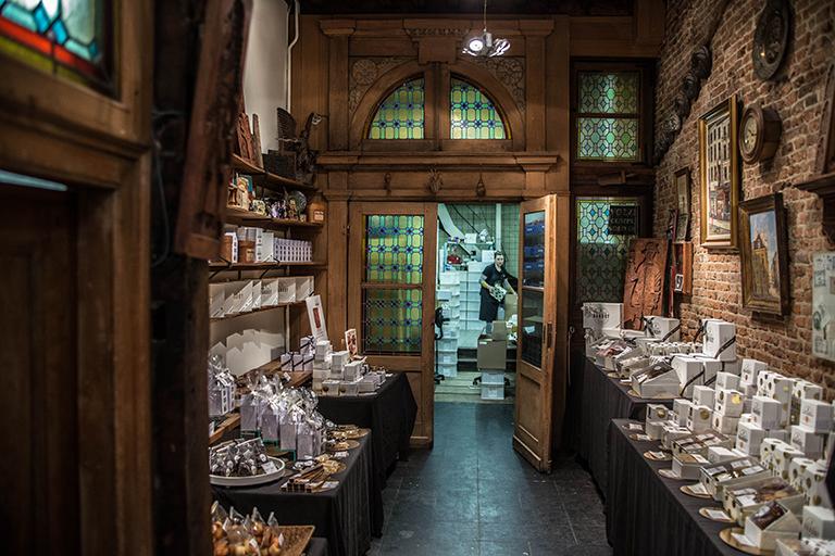 Dandoy la plus ancienne biscuiterie de bruxelles for Garde maison pendant vacances belgique