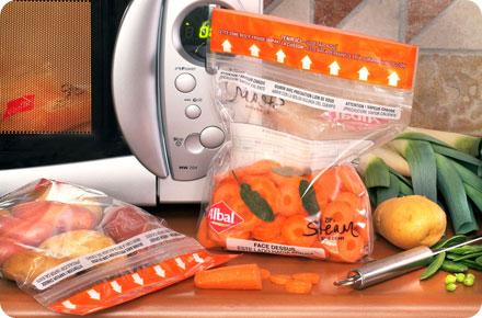 Cuisinez l ger avec les papiers et sacs de cuisson for Cuisson vapeur micro onde
