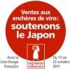 photo Action Solidaire des vignerons indépendants pour aider le Japon