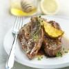photo Tendrons de veau marinés au citron, miel et thym