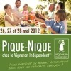 photo Le plus grand pique-nique de France les 26, 27 et 28 mai 2012
