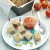 photo Pain de veau aux tomates confites et pistaches