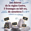 photo Les fromages de chèvre de la région Centre s'affichent