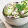 photo Salade de courgette à la féta et à la menthe fraîche