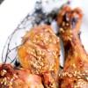 photo Cuisses de poulet Label Rouge au sésame et sauce soja