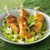 photo Brochettes de poulet au citron vert