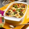 photo Clafoutis au bœuf, tomates cerise et brocolis
