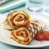 photo Wrap tomates, pistou et mozzarella