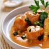 photo Curry rouge de lapin façon Thaï