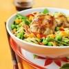 photo Wok de lapin aux petits légumes