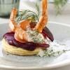photo Croustillant de saumon fumé et crevettes