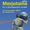 photo Salon Marjolaine 2010, Parc Floral, Paris 12