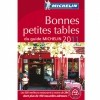 photo Les bonnes petites tables 2011 du Guide Michelin