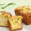 photo Cake au saumon de Norvège, courgette et ricotta