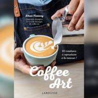 Coffee art par Dhan Tamang, aux Editions Larousse