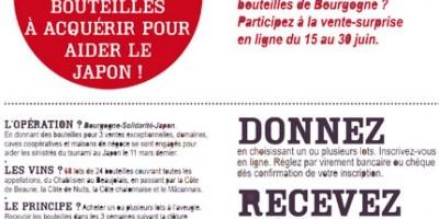 photo Bourgogne Solidarité Japon