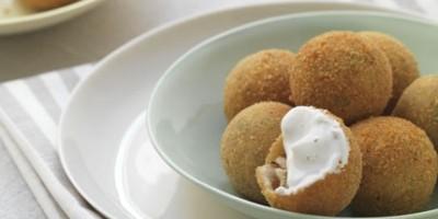 photo Croquettes de pommes de terre panées au Boursin