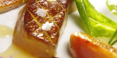 photo Poêlée de foie gras à la fleur de sel, pommes Antarès