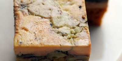 photo Foie gras, petites pommes Antarès® et noix de pécan