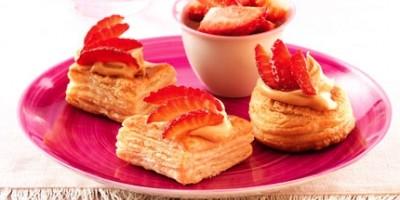photo Tartelettes fraises et mascarpone