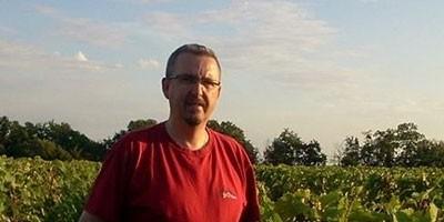 photo Benoît Gautier, vigneron en Vouvray