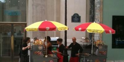 photo Le vrai Hot Dog comme à New York envahit la France