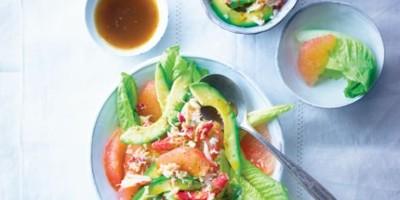 photo Salade de crabe, avocat et pamplemousse