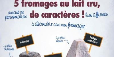 photo Les fromages de chèvre de la région Centre s'affichent