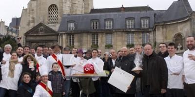 photo 5 janvier 2012 La Galette des Chefs pour une Epiphanie solidaire