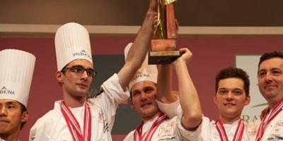 photo Sirha 2013 -  La France championne du  monde de la pâtisserie