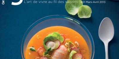 photo Magazine Arts et Gastronomie en kiosque depuis le 1er mars