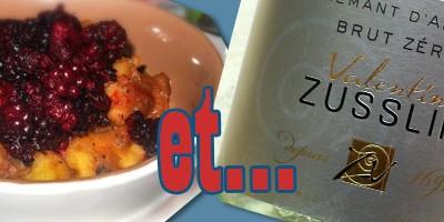 photo Accord crémant Zusslin et fruits de saison