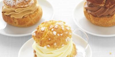 photo Mini-Choux crème mousseline