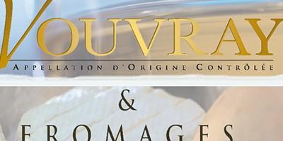 photo Vins de Vouvray et fromages, des mariages gourmands en blanc !