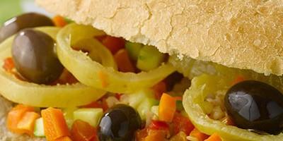 photo Rillettes aux olives en pan bagnat provençal par Flora Mikula