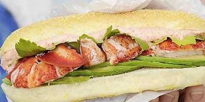 photo Lobster Roll Burger