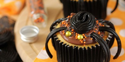 photo Pour Halloween Cupcakes araignées