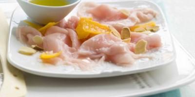 photo Carpaccio de veau à l'huile de noisette et copeaux de Mimolette
