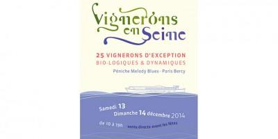 photo Vignerons en Seine, les 13 et 14 décembre à Paris