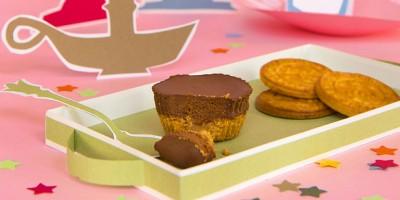 photo Cheesecake tout chocolat à la galette au beurre