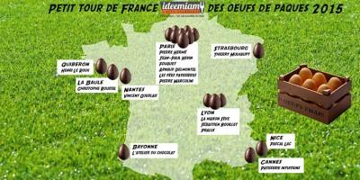 photo Petit tour de France des œufs de Pâques 2015