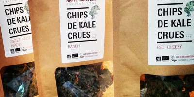 photo On craque pour les Chips de Kale Crues d'Happy Crulture