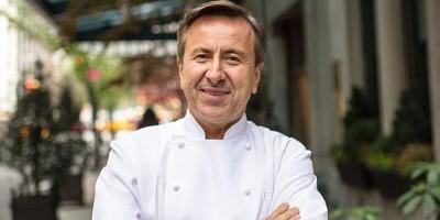 photo Le chef Français Daniel Boulud du restaurant Daniel à New-York reçoit le Prix The Diners Club Lifetime Achievement
