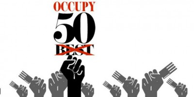 photo Occupy50best contre le classement des 50 meilleurs restaurants du monde