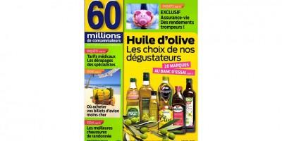 photo Monini élue meilleure huile d'olive extra vierge par 60 millions de consommateurs