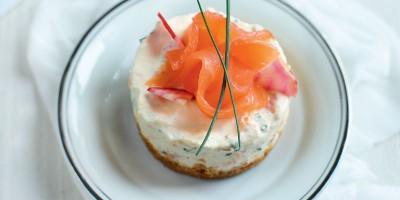 photo Cheesecake au saumon fumé Bio