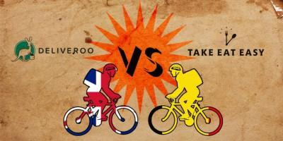 photo A Paris la guerre des livraisons de repas à vélo a commencé !