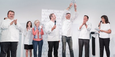 photo Christophe Adam élu Meilleur Pâtissier 2015