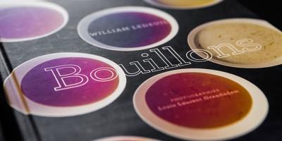 photo Bouillons par William Ledeuil, Editions de la Martinière