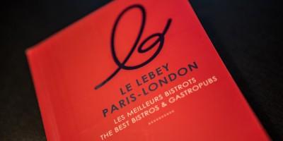 photo Guide Lebey Paris-London, L'Atelier Vivanda, Meilleur Bistrot parisien !
